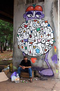 Street art | Mural by Chivitz