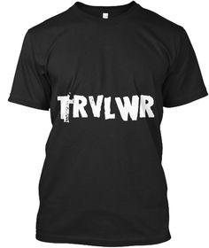 Trvl Wr Black T-Shirt Front