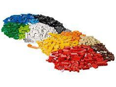 Tauche ein in eine kreative Welt endloser Möglichkeiten – mit dem LEGO® XXL-Steine-Set!
