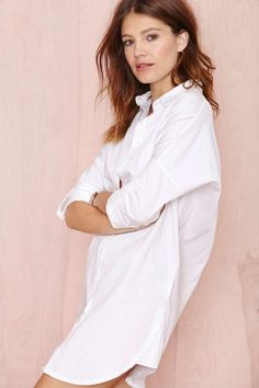 Going Blank Tunic - Day | Shift | Shirts + Blouses | Dresses | Tops | Mia