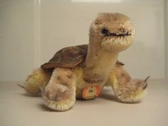 In my ETSY Shop: Steiff Vintage Slo Turtle (with older style bear face chest tag) ~ Born sometime between 1955 and 1972