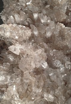 Arkansas Quartz, @ The Smithsonian. Crystals Minerals, Rocks And Minerals, Crystals And Gemstones, Stones And Crystals, Aesthetic Colors, White Aesthetic, Aesthetic Iphone Wallpaper, Aesthetic Wallpapers, Backgrounds Wallpapers