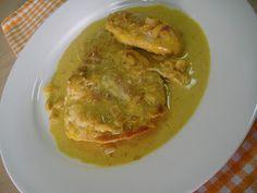 Maryam's Culinary Wonders: 56. Orange Chicken Fillet Steamed Rice, Orange Chicken, Orange Zest, Curry Powder, Savoury Dishes, Original Recipe, Thai Red Curry, Stuffed Peppers, Fruit