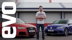 Audi RS3 vs Volkswagen Golf R   http://www.evo.co.uk/videos/16456/audi-rs3-vs-volkswagen-golf-r-evo-deadly-rivals?utm_content=bufferc2b3d&utm_medium=social&utm_source=pinterest.com&utm_campaign=buffer