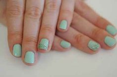 The mermaid nail | 24 Ways To Get Your Nails Ready For The Spring