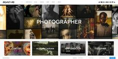 website - image heavy. thorough first impression. balance the clutter with negative space