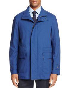 Canali Rain and Wind Raincoat