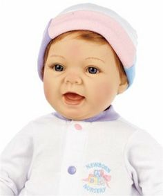 "Lee Middleton Newborn Nursery Sweet Baby Strawberry Blonde Hair/Blue Eyes #931 by Lee Middleton. $89.99. Eyes: Blue. Artist: Reva Schick. Hair: Strawberry Blonde. Skin Tone: Light. Body: Newborn; 20"" long. Life-sized baby for you to love!"