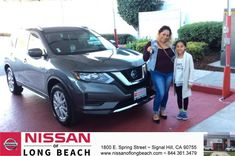 Congratulations Griselda on your #Nissan #Rogue from Sandra Ixta at Nissan of Long Beach!  https://deliverymaxx.com/DealerReviews.aspx?DealerCode=RHAF  #NissanofLongBeach