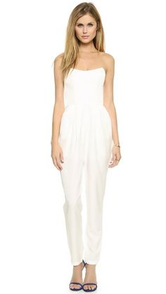 25f21bf9e93  Keepsake Playing with Fire Jumpsuit  White Jumpsuit