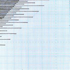 animated geometric GIFs on graph paper by alma alloro