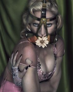 A Risqué Madonna for Interview Magazine. 15 Fab Photos by Mert and Marcus.