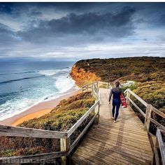 : @stimages  DAY 6: MELBOURNE AUSTRALIA The East coast of Australia has some amazing surf breaks but one of the most iconic is on the south at Bells Beach. Have you been? Tag someone that you would take there!  Want to see your photo be a part of our world tour? Make sure you use the hashtag #amigoworldtour for your chance to be featured! by amigosport http://ift.tt/1KnoFsa
