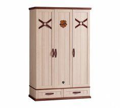 Royal 3 ajtós Szekrény #gyerekbútor #bútor #desing #ifjúságibútor #cilekmagyarország #dekoráció #lakberendezés #termék #ágy #gyerekágy #royal #lovas #ló #horse  #szekrény