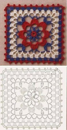 Transcendent Crochet a Solid Granny Square Ideas. Inconceivable Crochet a Solid Granny Square Ideas. Crochet Motifs, Crochet Blocks, Granny Square Crochet Pattern, Crochet Diagram, Crochet Chart, Crochet Squares, Crochet Stitches, Crochet Patterns, Granny Squares