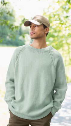 strikket herresweater