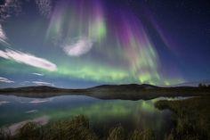 Autumn Rays. Arctic Light Photo Ole C. Salomonsen Photography.