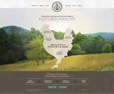 WhyNot Farm CMS Web Design.  web layout. font. style. all of it!