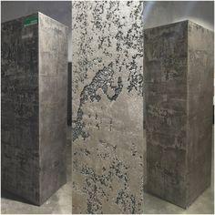 Cement Walls, Concrete Wall, Textured Wallpaper, Textured Walls, Kitchen Wallpaper Accent Wall, Texture Metal, Glitter Paint For Walls, Venetian Plaster Walls, Feature Wall Design