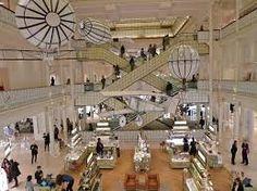 le bon marche paris: department store located in the 6th arrondisment of st Germain