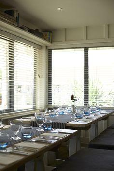 Indoor table setting. #coastalweddings