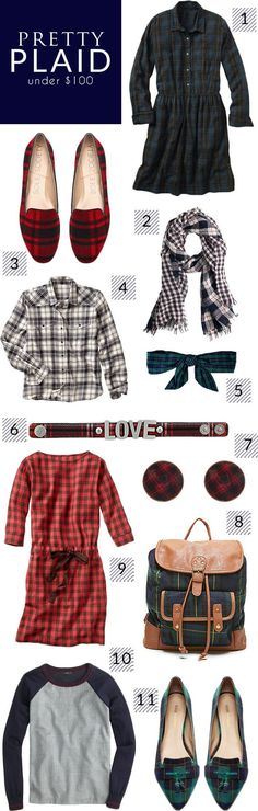 Step out in style in plaid this fall with these fashion favorites.