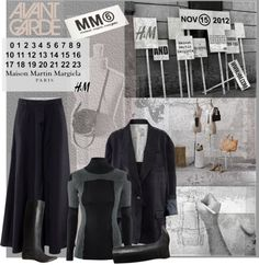 """""""Maison Martin Margiela with H"""" by ansev ❤ liked on Polyvore"""