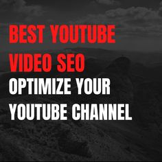 Hello YouTuber, 🎬🎬🎬🎬 Are you looking for someone who can do best youtube video seo and optimize your channel?😔😔. 😎😎 🏆🏆 I am here, who can do best youtube video seo and optimize your channel. 😑 🏀🏀🏀 🏐🏐🏐 Visit my service here : 🚩fiverr.com/share/L35QVa 💟 #youtube #youtubechannel #youtubers #seo #videomarketing #seovideo #youtubevideo #youtubecommunity #youtuber好きな人と繋がりたい #youtubebrasil #youtubeblackfanfest #youtubeseotools #youtubeseotips #youtubeseo2019 #youtubeseoexpert Online Marketing, Digital Marketing, Looking For Someone, You Youtube, Youtubers, Seo, Channel