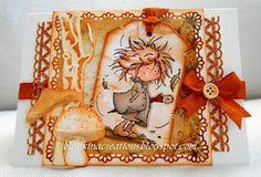Blankina creations: Daisy autumn card Marianne Design