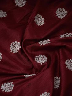 Maroon Jacquard Silk Boota Saree With Blouse Piece,Party Wear Saree Ethnic Saree. Indian Saree Stitched Blouse Kanjeevaram Silk Saree