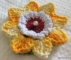 Flor de laranjeira passo a passo