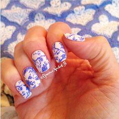 love stamping!! #QueenieNailedIt #losangelesnails #love #nailsoftheday #nailswag #nailsonfleek #nailart #photooftheday #nailfie #nailgasm #gelmanicure #gelnails #nailsofinstagram #showmethemani #nailmagazine #pronails #gelish #summer #fun #paradise #nailboss #nailaddict #nailedit #nailstamping #stampingplates