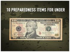 10 Preparedness Items Under $10