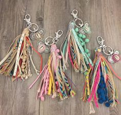 keychain clip on sale at reasonable prices, buy personalized custom unique car key chains lanyards Key ring key finder feather keychains Leather tassel from mobile site on Aliexpress Now! Diy Tassel, Tassels, Jewelry Crafts, Handmade Jewelry, Keychain Clip, Arts And Crafts, Diy Crafts, Tape Crafts, Ribbon Crafts