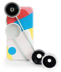 Photojojo has created a line of smarthphone lenses called Iris, including a macro, a wide-angle, and a fisheye