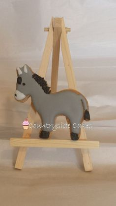 Donkey Decorated Sugar Cookies 31 dozen by CountrysideCakes