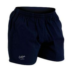 Shorts - Mens Plain Rugby - Cotton Traders