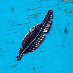 Metalsmithing skills!  Copper feather.  www.socalsoldering.com