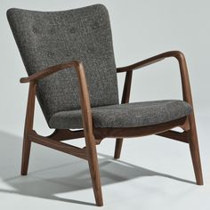Finn Juhl Style Model 2 Chair. Additional fabric/finish options.