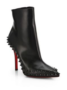 ** Christian Louboutin - So Kate Suede Booties - Saks.com