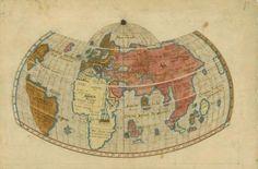 Henricus Glareanus, Map of the World, 1513