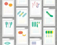 "Check out new work on my @Behance portfolio: ""2016 Calendar - ""Walking Day"" 