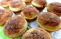Nutella-Stuffed Doughnut Muffins