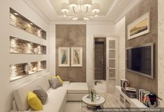Дизайн гостиной, г. Железнодорожный, Подмосковье