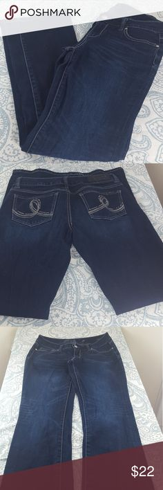"""Seven7 Bootcut Jeans Seven7 Bootcut Jeans, size 28, in great condition.  Waist: 14.5"""", Inseam: 31.5"""", Length: 41"""", Rise: 8"""". Measurements are approximate   *Bundle and Save  *Feel free to make an offer  *Please ask any questions before purchase   Happy Shopping! 💋 Seven7 Jeans Boot Cut"""