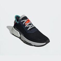 on sale a29aa 40a5a Adidas POD S3.1 Black   Solar Red