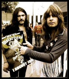 Lemmy and Ozzy.