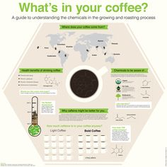 What´s in your coffee? Coffee infographic