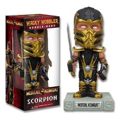 Scorpion Bobble Head now available from www.karatemart.com/
