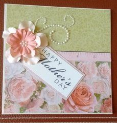 You will enjoy the floral imagery of the Garden 12 Mothers Day Crafts, Happy Mothers Day, Scrapbook Cards, Scrapbooking Ideas, Rose Cottage, Card Making, Place Card Holders, Paper, Birthday